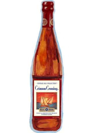 Crimson Crossing Beer Bottle