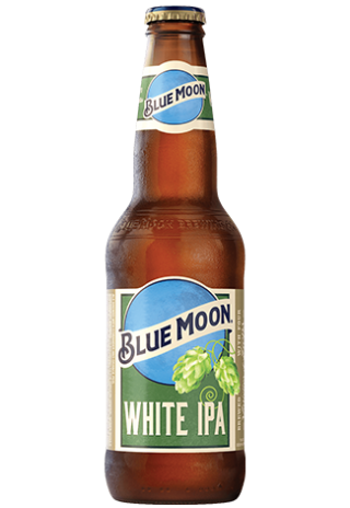 White IPA Beer Bottle