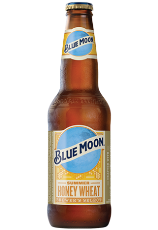 Summer Honey Wheat Beer Bottle