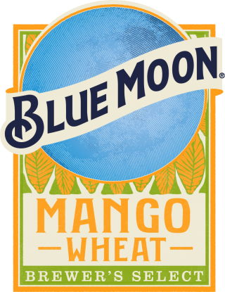 Mango Wheat Beer label