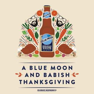 Get ready to cook a one-of-a-kind Thanksgiving feast with Blue Moon-inspired recipes and Babish! Go to bluemoonandbabish.com or check the link in our bio for details to watch our livestream. On 11/19, tune into the Babish Culinary Universe YouTube channel, and brighten up your table by cooking a delicious Thanksgiving dinner. #BlueMoonandBabish