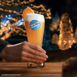 Blue Moon makes the holidays shine brighter. Cheers!