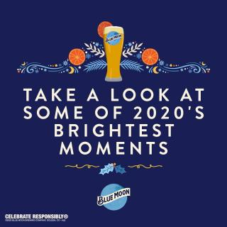 Winter Solstice is here! Cheers to brighter days ahead. Swipe to check our fans' brightest moments of 2020. #BlueMoonSolstice