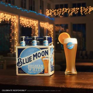 Raise a glass to a season filled with the bright flavor of Blue Moon. Happy Holidays!