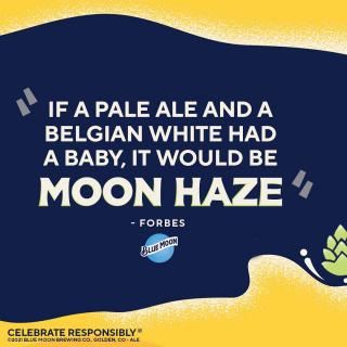 We'll raise a glass to that. Introducing Moon Haze. In stores now.