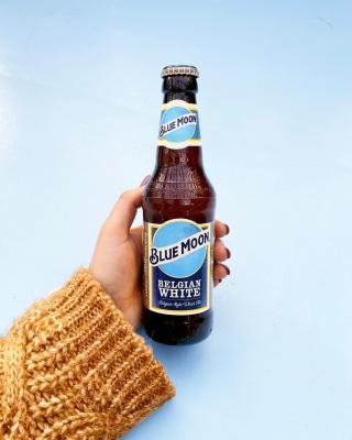 A Blue Moon for us please barman. 🍻  #CraftBeer #ArtfullyCrafted #BlueMoonBeerUK  Please Drink Responsibly