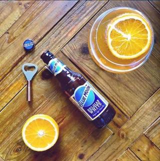 🔵🌕🍺🍊 📸: @_vinoandvinyl  #NationalBeverageDay #CraftBeer #ArtfullyCrafted #BlueMoonBeerUK  Please Drink Responsibly.