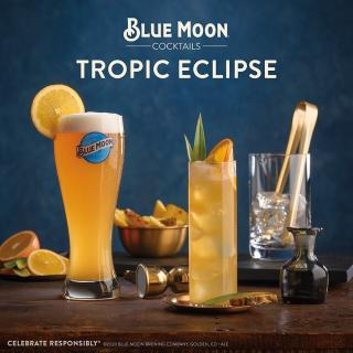 A cocktail that calls for a Blue Moon deserves to be celebrated. This #WorldCocktailDay, raise a Blue Moon Tropic Eclipse and reach for the moon. Swipe right for the recipe!