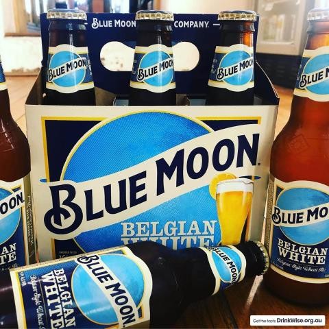 A refreshingly welcome twist of flavour 🍊🍺  #BlueMoonAus
