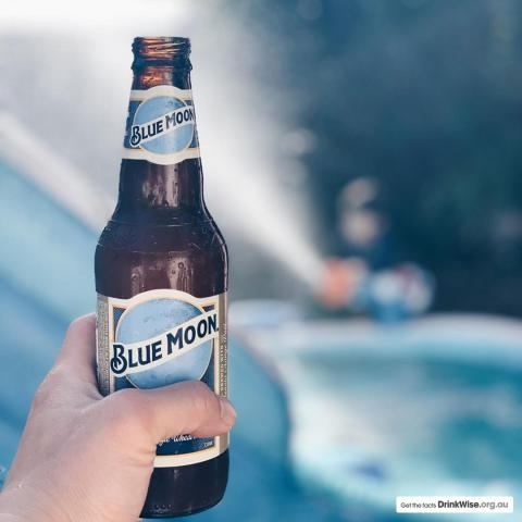 Summer holidays looking a little like this... Cheers for the awesome shot @andyyang84 #BlueMoonAus