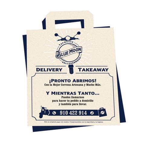 Breaking News!! ⚠️ ¡Blue Moon Tap House ya hace envíos a domicilio! 🙌🏻 Y para celebrarlo, empezamos con una super promoción: Por un pedido mínimo de 25€ te regalamos 4 latas de La Sagra Bohemia 🍺🍺🍺🍺 Ya no tienes excusa para no tomarte una de nuestras birras con una suculenta burger 😋🍔 desde la comodidad de tu sofá ☎️ Llámanos al telefóno 910422914 . . . #Bluemoonspain #bluemoontaphouse #gastronomía #delivery #enviosadomicilio #bluemoongastronomy #Madrid #España #quedateencasa #beerme #artfullycrafted #cerveza #cerveja #cervezaartesanal #beerlover #beerstagram #craftbeer #beer #brew #brewery #craftbeerlover #brewery #beerpairing