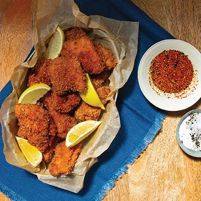 Spicy Blue Moon Fried Chicken